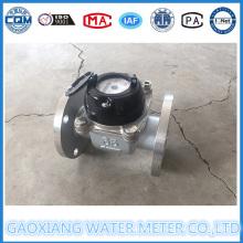 Измеритель воды типа 304 Woltman из нержавеющей стали