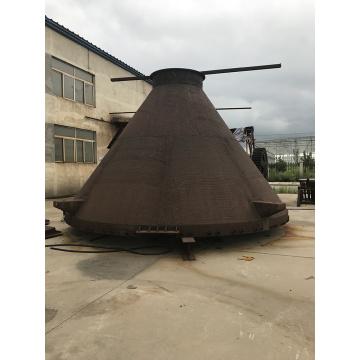 Cône d'alimentation centrale de broyeur vertical pour l'industrie du ciment