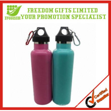 Fördernde populäre billige kundenspezifische Edelstahl-Sport-Wasser-Flasche