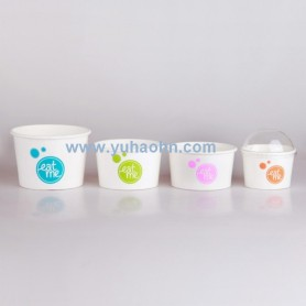 4oz Ice Cream Cup with PET Lid
