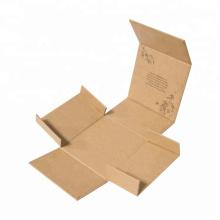 Personalised paper hardcover kraft box