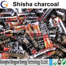 casca de coco sem fumo carvão Shisha