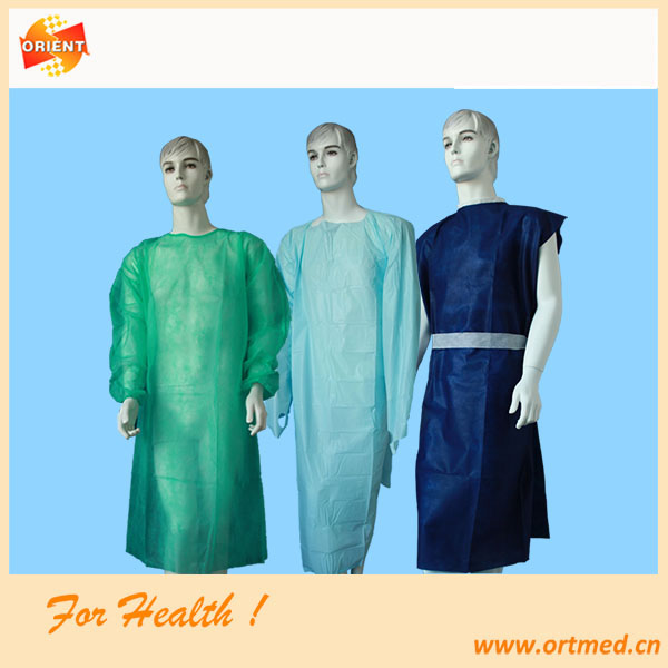 China Disposable sterile surgical gown, Exam gown Manufacturers