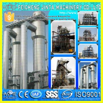 99,9% Équipement d'alcool et d'éthanol Production de canne à sucre pour l'équipement pour l'alcool et l'éthanol