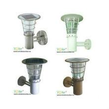 Nice solar lighting CE Double burner solar-LED pillar lighting (JR-2602)