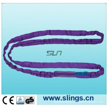 1t*1m 100%Polyester Round Sling with Safaty Factor as 7: 1