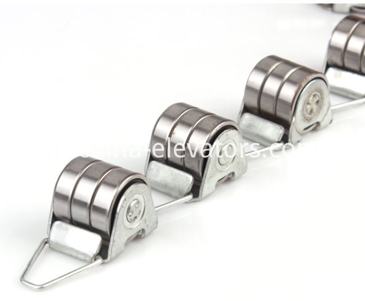 Rotating Chain for OTIS Escalator 17 Sections, 3 bearings each section