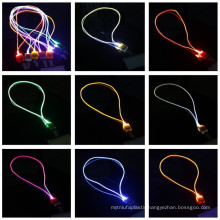 2016 new products flashing lumious lanyard