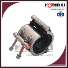 Braçadeira de reparo de vazamento de tubo de aço inoxidável flexível RCD