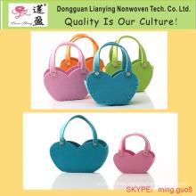Bag with Different Colors Felt Bag