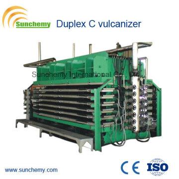 Top Qualifizierter Duplex C Vulkanisierer