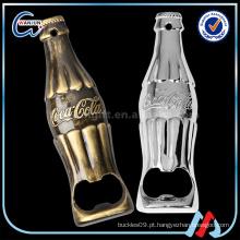 Garrafa em liga de zinco em forma de abridor de garrafas