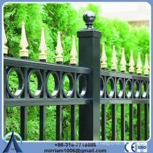 Wohn-Stahl Zaun Ornamental Eisen Speere Und Finials