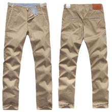 Pantalones de pierna ancha de los hombres del OEM Pantalones de pantalón de verano de trabajo casual