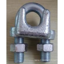 Abrazadera de cable maleable de Atype Galv Hardware del aparejo