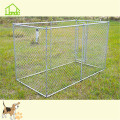 Silver Galvanized Chain Link Pet Dog Kennel