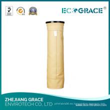 Caldera de filtro de polvo de caldera de caldera de carbón calcetín de filtro P84