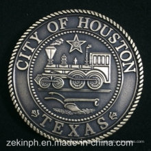 Custom Us State of Texas Souvenir Monedas de metal