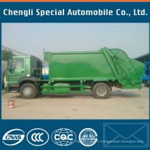 18yards 4X2 Rhd Compacteur Type HOWO Sinotruk camion à ordures