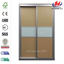 Trinity Maple Painted Glass Aluminum Interior Sliding Door