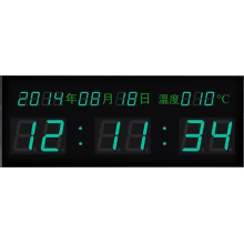 Jam Kecil Elektronik 0.4inch LED Clock Display