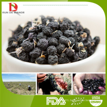 new harvest wholesale China high quality black goji/Chinese black wolfberry/lycium ruthenicum murr