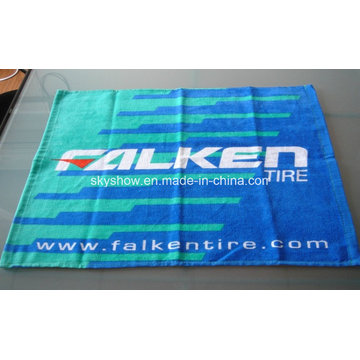 100% Cotton Full Printed Sports Towel (SST3013)
