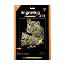 Creative Scratch Cards Paper Crafts Art Supplies