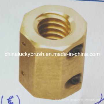 Tuerca de cobre para la máquina de Stenter de Bruckner (YY-414)