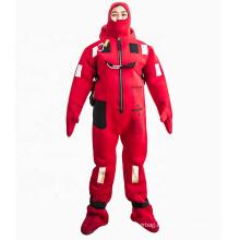 Neoprene material seaman water survival suit for life raft