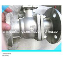 DIN Casting Steel Manual Control Ball Valve