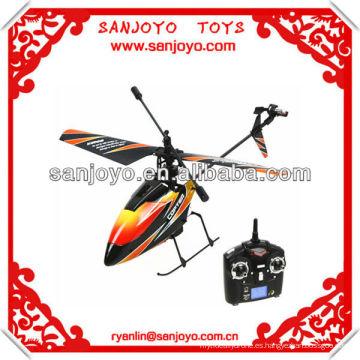 ¡Helicóptero al aire libre del rc de WL 2.4G 4ch con la sola cuchilla! V911
