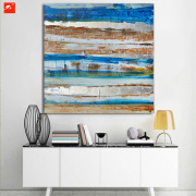 Abstract Handmade Oil Painting For Home Decor