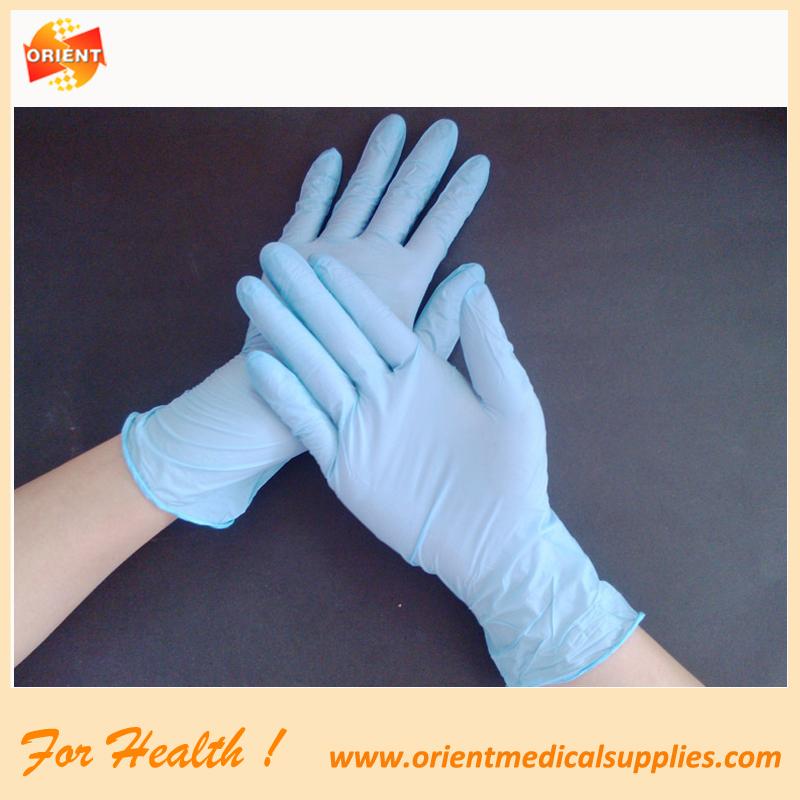 Prüfung-Nitril-Handschuhe Einweg-Nitril-Handschuhe