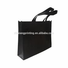 Bolso de compras manejado tela no tejida plegable al por menor en la acción en venta 40 * 30 * 9cm