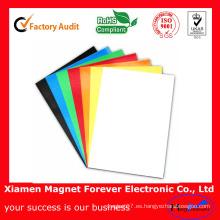 Colorido Autoadhesivo Caucho Flexible Papel A4 Magnético