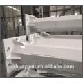 Steel tapered octagonal lighting poles