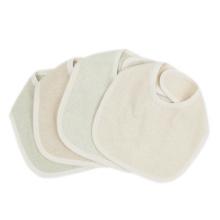 Babador de bebê de algodão orgânico