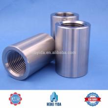 Conector mecánico de empalme mecánico roscado para barra de acero