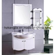 Cabinet de salle de bain en bois massif / vanité de salle de bain en bois massif (KD-427)
