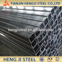 Square / Rectangle Galvanized Steel Tube Thickness 1.7mm