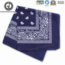 New Classic Fashion Beautiful Paisley Printing Square Cotton Bandana