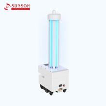 Robô de desinfecção por luz ultravioleta