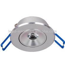 Lampe de lampe de cabinet en aluminium mini coque en aluminium 3w