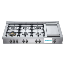 48 Rangetop 6 Burners and Griddle