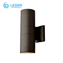 LEDER Charcoal Grey Superstore 2*5W Outdoor Wall Light