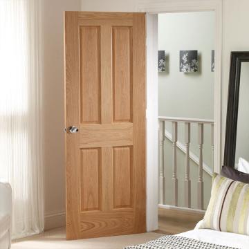 Simple Solid Pure Wood Bedroom Doors