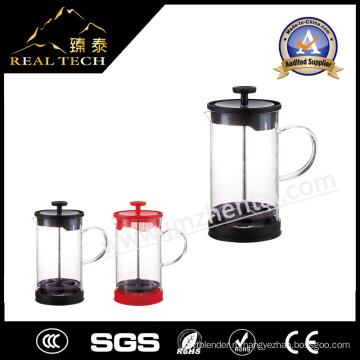 Завод Поставка Красочный термостойкий стеклянный чайник с инфузиром