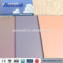 Preço de painel composto de alumínio acp de alta qualidade na Índia