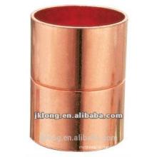J9001 acoplamento de conexão de tubulação de cobre com a parada rolada CxC para o refrigerador e o condicionamento de ar